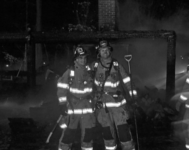 Pavillon Fire - Geoff Rd, Wethersfield, CT - 12/10/16