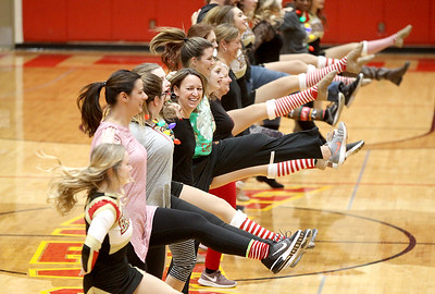 Batavia High School kick-a-thon