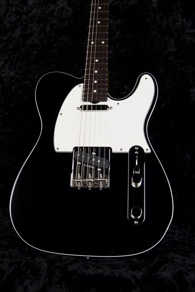 NOS VT #3718, Black With Double Binding Edge, Grosh T/T Pickups