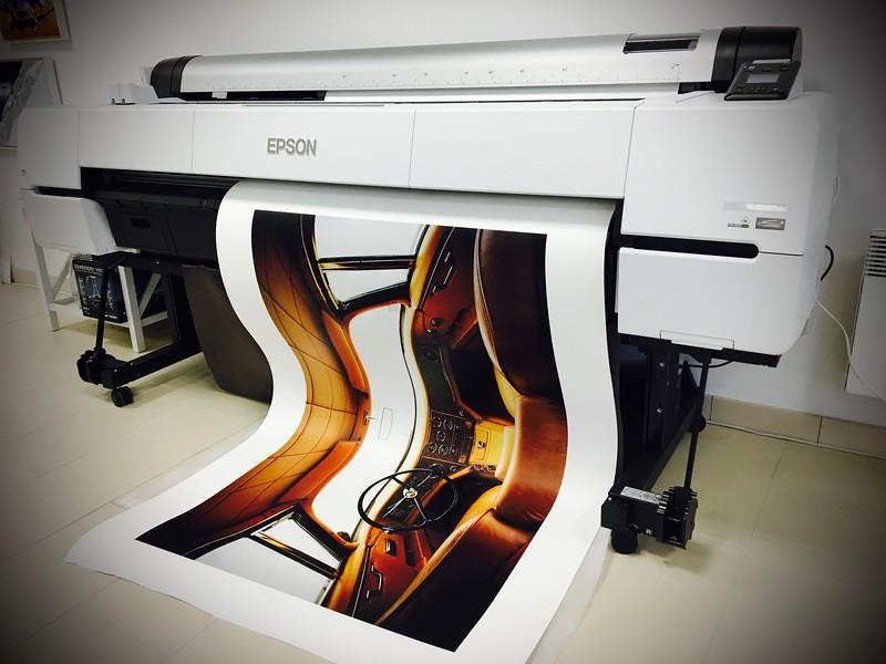 """Tirage  papier Premium Canson satin 310 gr réalisé chez """"Tirage d'Exposition""""  90X145 cm"""