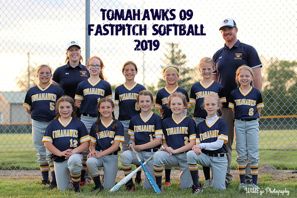 2019 Tomahawks 09 Fastpitch Team Photo