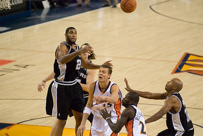 Golden State vs. San Antonio - 11/27/06