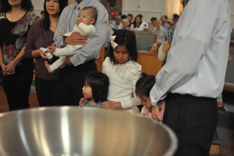 Baby Baptism + Priesthood Sunday 2012/10/28