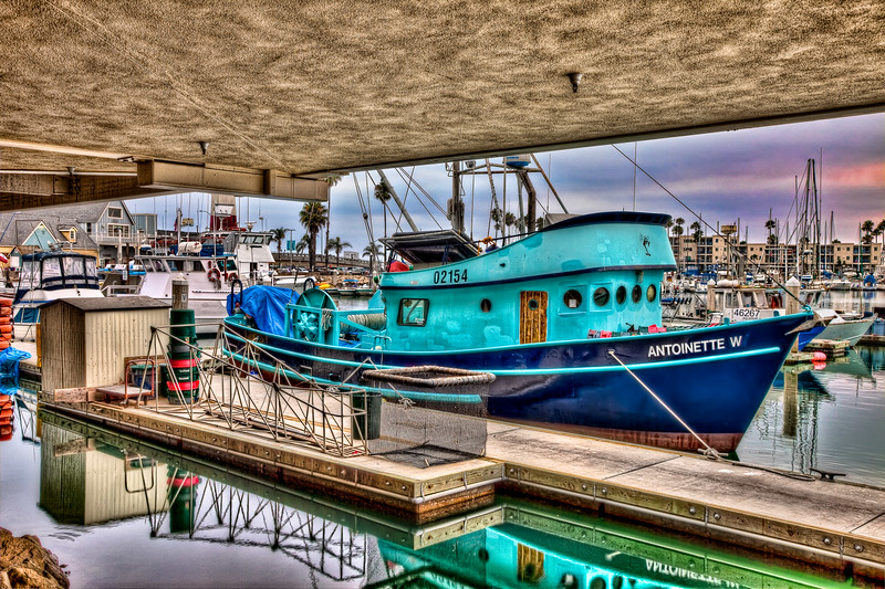Oceanside Fishing Boat