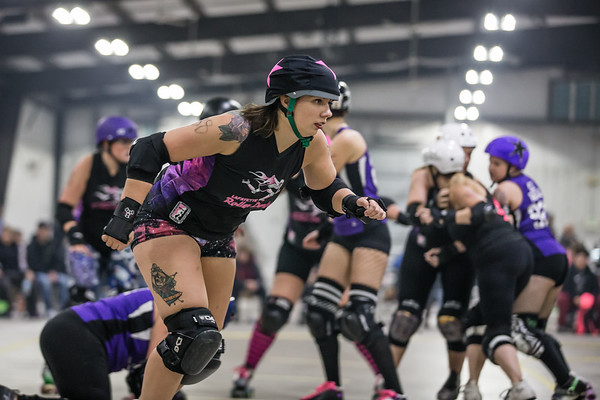 11-10-18 Lafayette Roller Derby vs. Illiana Derby Dames