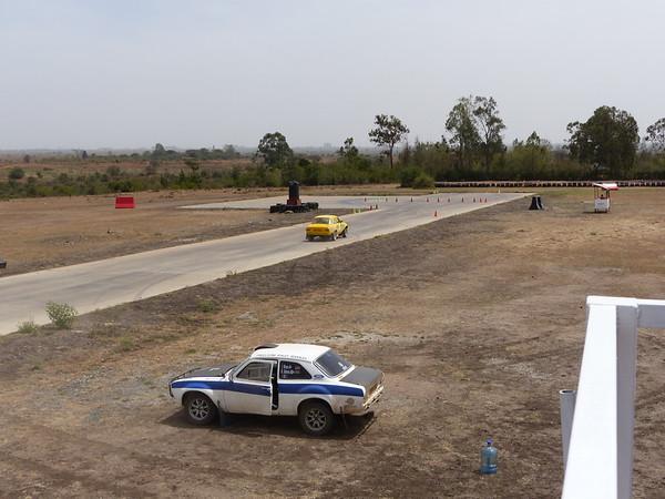 Rally Demo at Kitengela Track