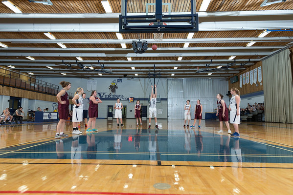 Junior Girls vs. Macklin