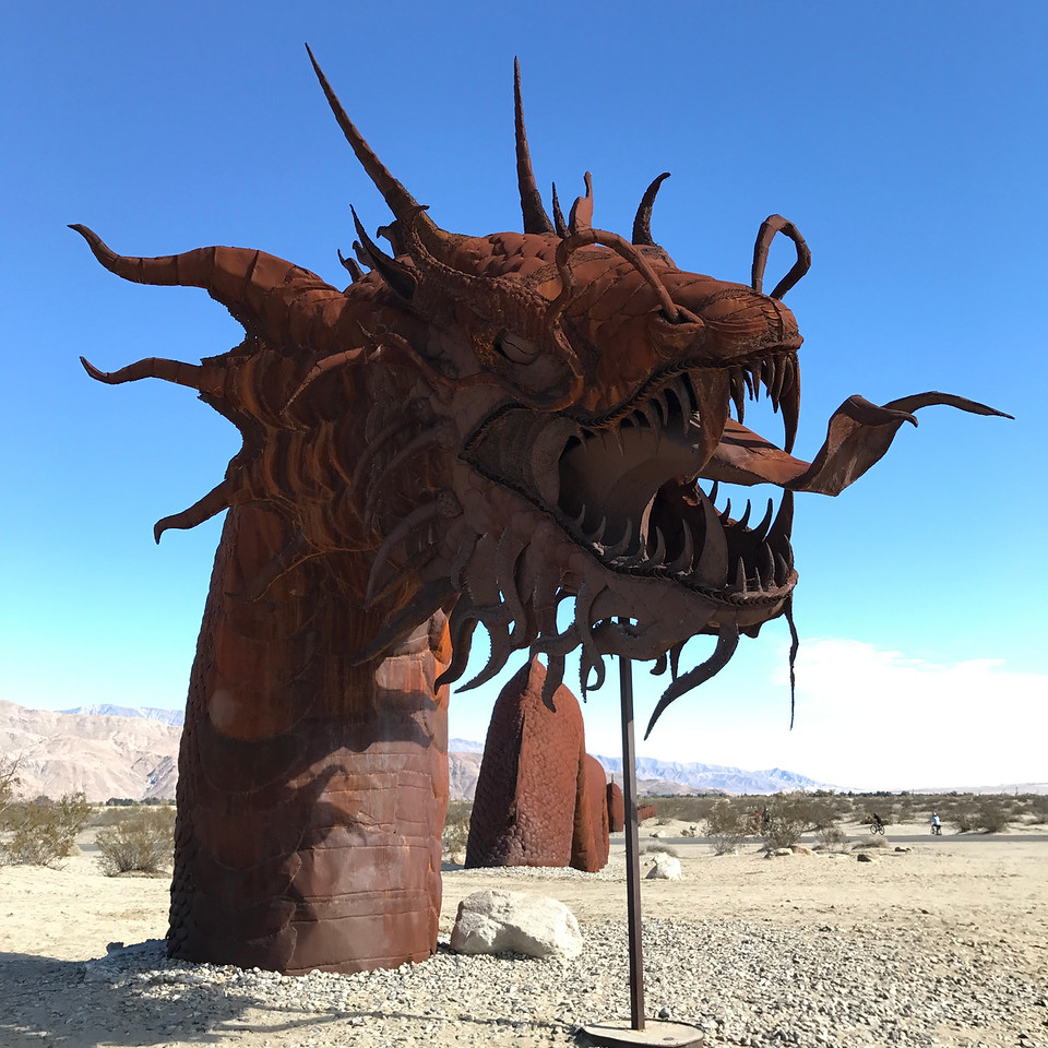 Anza-Borrego Desert Motorcycle Ride - Giant Serpent - Fuzzygalore