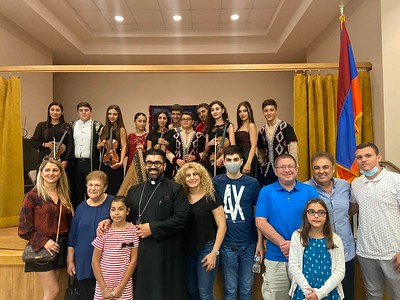 Afternoon of the Armenian Folklore at Soorp Haroution Armenian Church