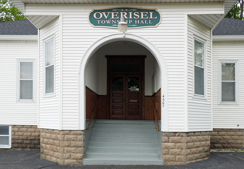 Entrance to Overisel Township Hall