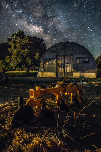 Descanso Milky Way San Diego Landscape Night Photography quonset hut fullres-4.jpg