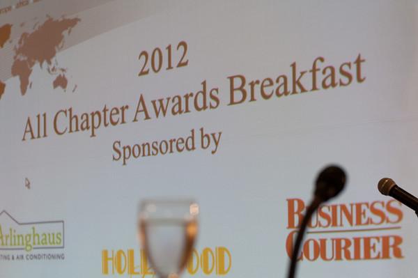 BNI Awards Breakfast 2012