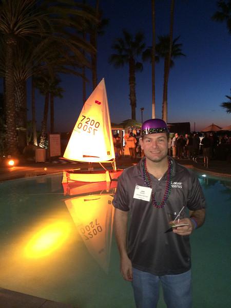 2/5 US Sailing Leadership Forum Welcome Reception - Jon
