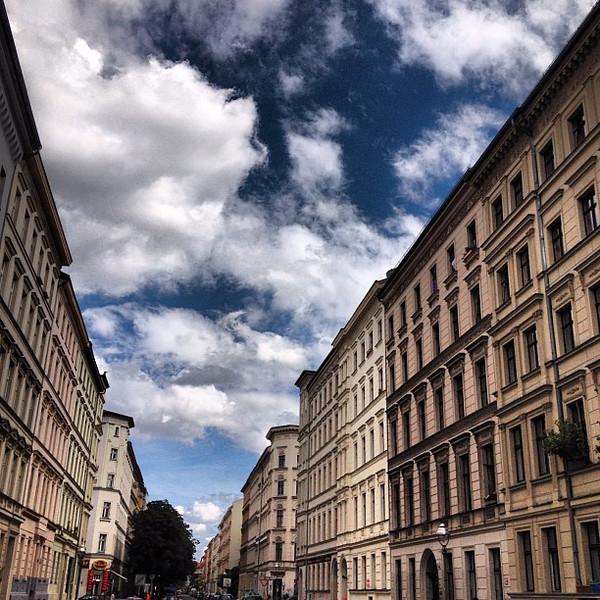 Berlin, on the street where we live (for the moment) #Kreuzberg
