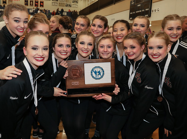 """Maple Grove Celebration at the 2018 2AAA Sectional. Photo by Rick Corwine  <a href=""""http://www.mndancenews.com"""">http://www.mndancenews.com</a> 