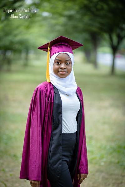 Assatu Jalloh's Graduation photos