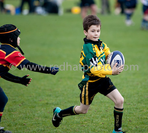 Under 8's, Franklin's Gardens, 2 April 2011