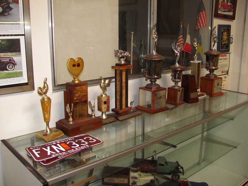 old retired ABS trophy's