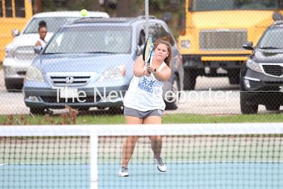 WHS vs. East Bladen Girls Tennis