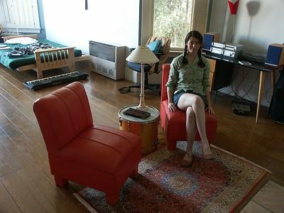 Danya's chairs, 2005