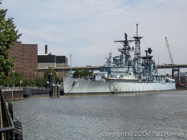 USS Little Rock (CL-92, Later CLG-4) - Buffalo, NY