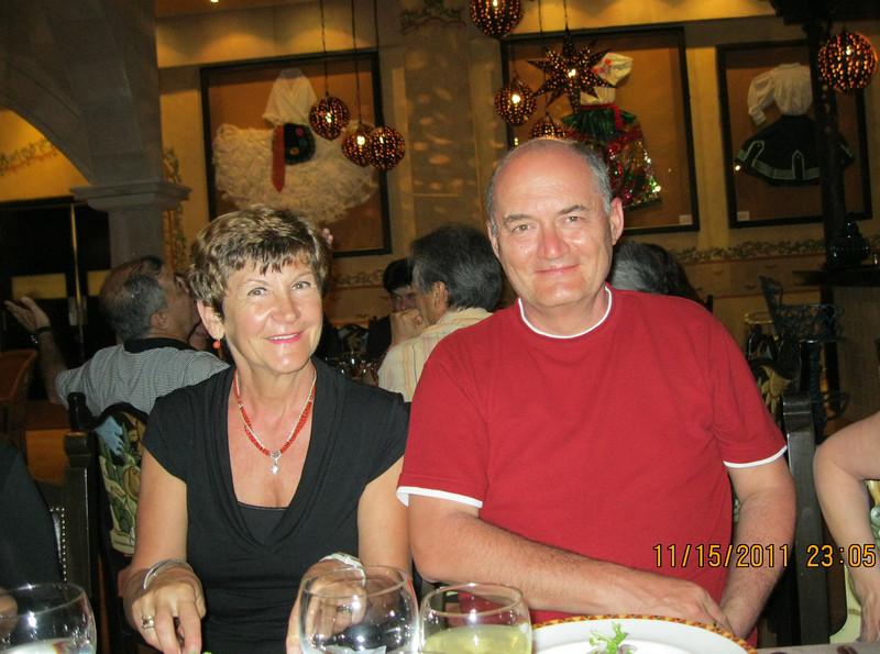 At El Patio restaurant - 4