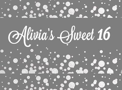 Alivia's Sweet 16!