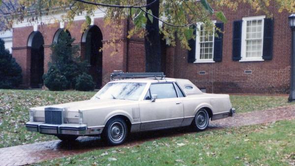 1982 Lincoln Mark VI .  .  .