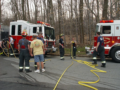 Budd Lake Firefighters Tackle Two Brush Fires