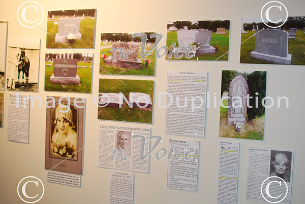 Stirred Not Shaken exhibit on Italian heritage at Aurora Historical Society in Aurora, Ill 11-2-13