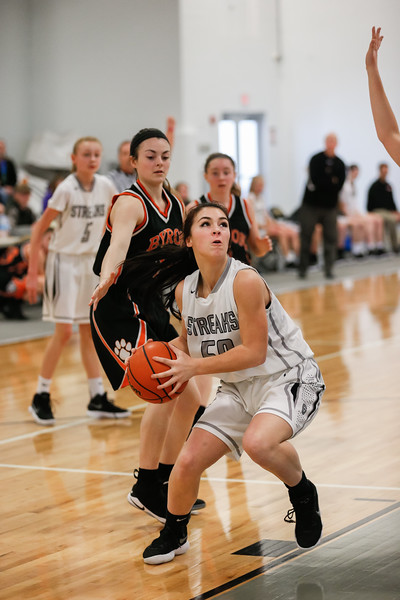 GHS Girls Sophomore Basketball vs Byron Jan. 27, 2018