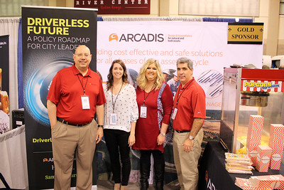 Sponsors at Trade Show