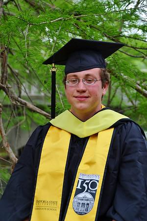 2013-05 Andrew's ESU Masters Degree Graduation