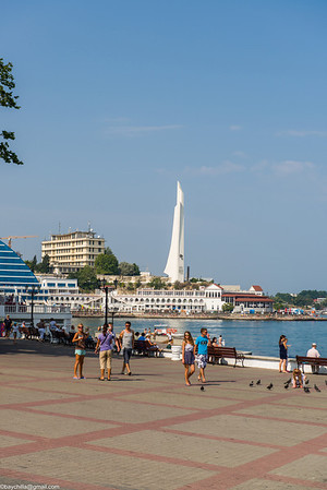 Sevastopol, Ukraine, August 2013