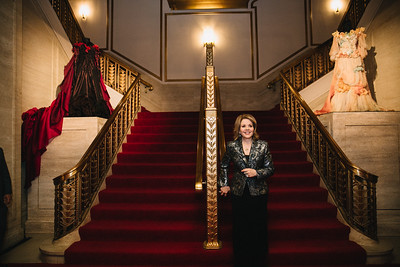 Renee Fleming - Gown Tour
