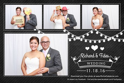 Fides and Richard Wedding