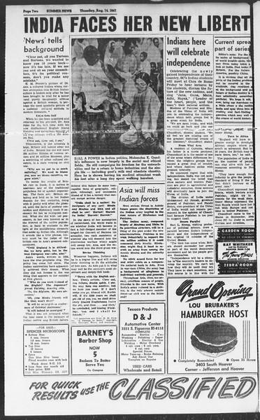 Summer News, Vol. 2, No. 21, August 14, 1947