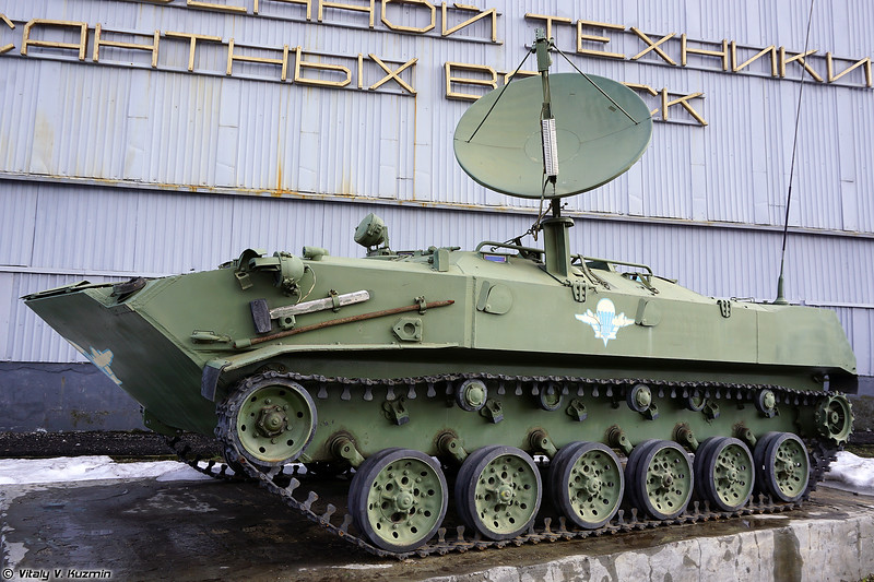 Museum of VDV Weapons and Military Equipment in Ryazan, Part 1 - Tracked vehicles