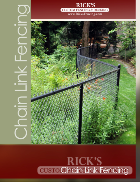 Rick's Chain Link Fencing Brochure