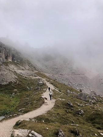 Dolomites - Traverse Day 7 Tre Cime