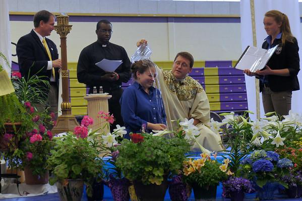 Easter Mass, Baptism...