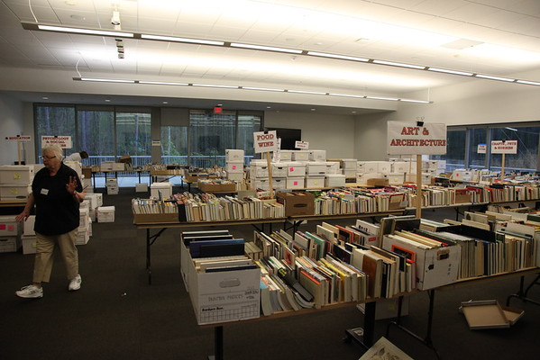 Book Sale Setup Apr 2015