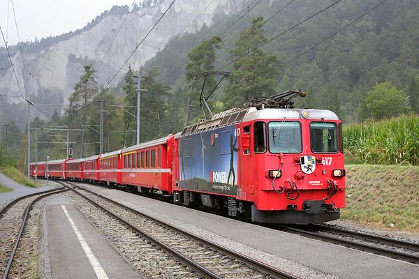 1st October: Switzerland Day 3-Rhätische Bahn