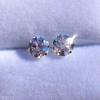 2.27ctw Transitional Cut Diamond Pair, GIA H VS2 4