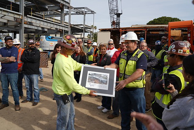 Campus Center Topping Out Ceremony