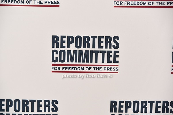 Reporters Committee for Freedom of  the Press 2018 Awards Dinner at the Pierre on 5-22-18. photos by R.Cole  &  Rob Rich /SocietyAllure.com ©2018 robrich101@gmail.com 516-676-3939