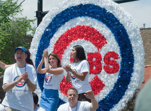 Hawks and Cubs at the Pride, 2010