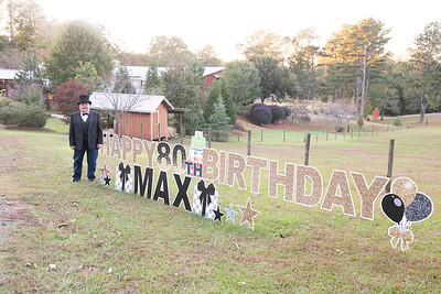 Max's 80th Birthday 2019