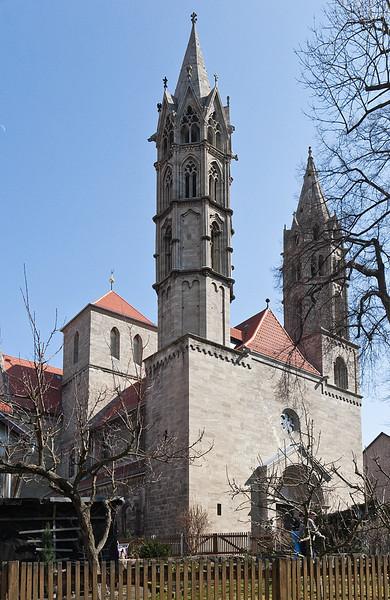 Arnstadt, Liebfrauenkirche, Westfront