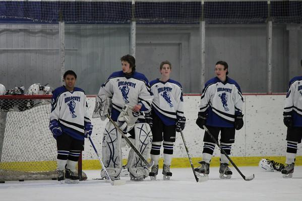 Wildcats hockey vs RHAM 2-27-13